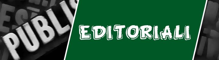 Rubrica di editoriali giornale tablo
