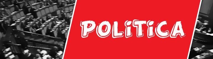 Rubrica di politica giornale tablo