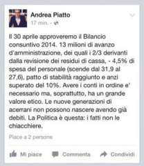 Post di Andrea Piatto