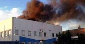 Incendio Zona Asi Vernici