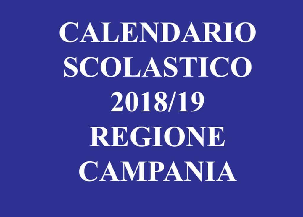 Calendario Regione Campania.Istruzione La Giunta Approva Il Calendario Scolastico